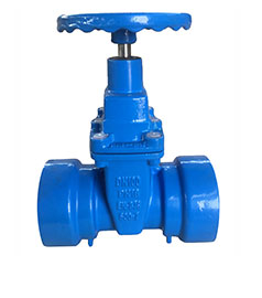 Socket End Resilinet Seated Gate Valve Dutile iron Pipe